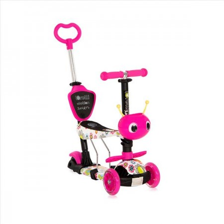 Scooter Smart Plus Pink Flowers