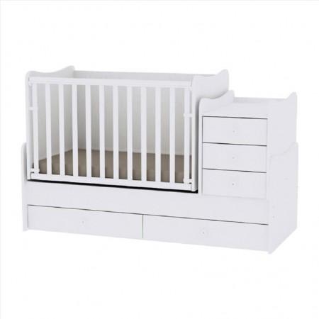 POLYMORPHIC BED MAXI PLUS LORELLI WHITE