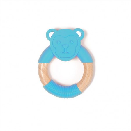 Chewing Monkey Blue