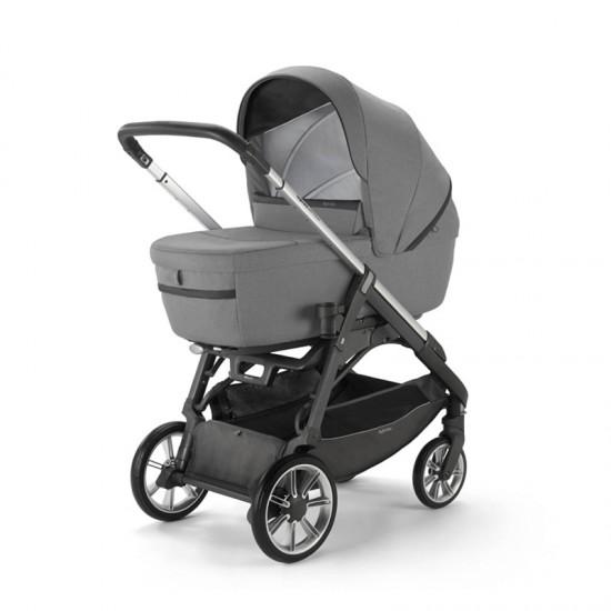 Inglesina Stroller Aptica Quattro System with Kensington Gray car seat