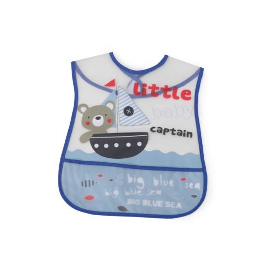 ΣΑΛΙΕΡΑ BABY BIB HAPPY MEAL - 1004 BLUE