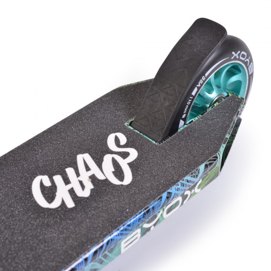 BYOX CHAOS BLACK SKATING FOR CRAZY Tricks and GIFT HELMET