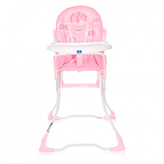 High Chair Marcel pink hearts