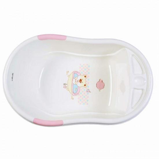 Βρεφική μπανιέρα Lilly pink από την moni