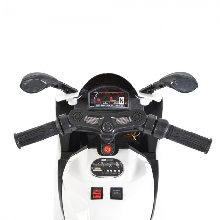 12v Napoleon electric motorcycle suitable for children from 3 to 6 years old and weighing up to 25 kg