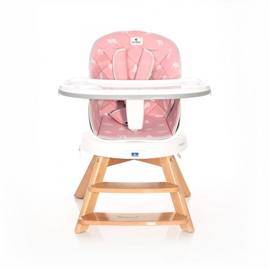 Napoli Pink Bears Dining Seat From 6+ Months