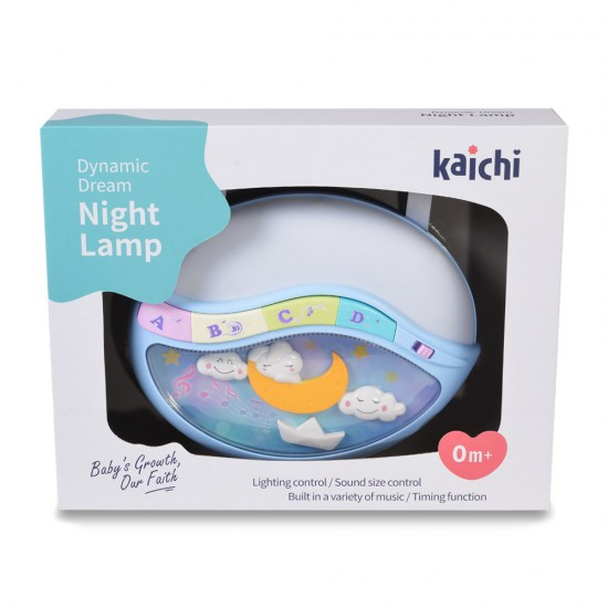 Dynamic Dream Night Lamp Blue