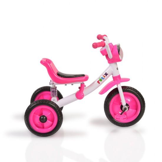 Τρίκυκλο Ποδήλατο Felix Pink